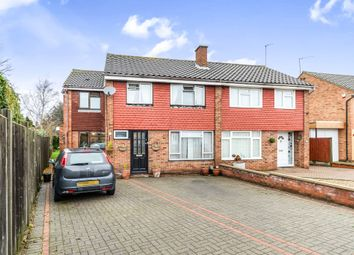 Thumbnail 4 bed semi-detached house for sale in Cheviot Close, Bedford