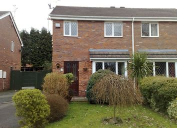 Thumbnail 3 bed semi-detached house to rent in Herrick Close, Wistaston, Crewe