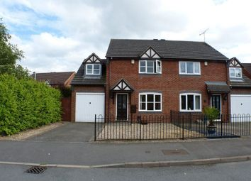 Thumbnail 3 bedroom semi-detached house to rent in Montgomery Road, Whitnash, Leamington Spa