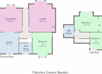 Thumbnail 3 bedroom detached bungalow for sale in Banchory Crescent, Bearsden, Glasgow