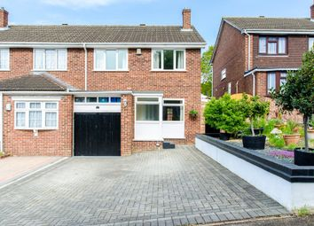 Thumbnail 3 bed semi-detached house for sale in Hale Road, Cliffe Woods, Rochester
