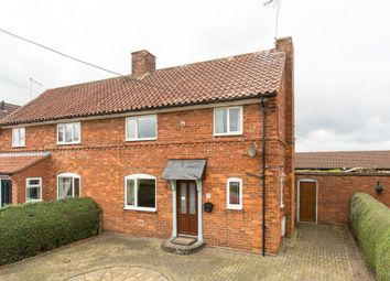 Thumbnail 2 bedroom semi-detached house for sale in Crabmill Lane, Easingwold, York