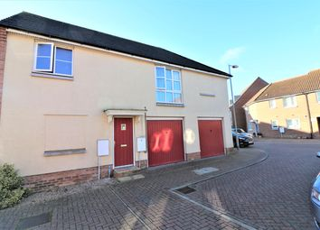 Thumbnail 2 bed flat for sale in Jentique Close, Dereham