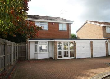Thumbnail 4 bed detached house for sale in Wragby Close, Wolverhampton