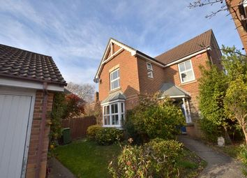 Thumbnail 3 bed detached house to rent in Decouttere Close, Church Crookham, Fleet