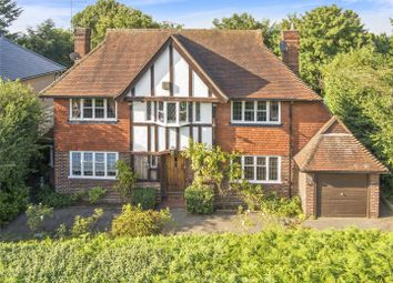 Thumbnail 4 bed detached house for sale in Wayneflete Tower Avenue, Esher, Surrey