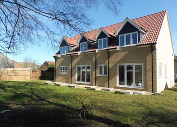 Thumbnail 4 bed detached house for sale in Plough Road, Whittlesey, Peterborough