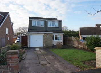 Thumbnail 3 bed detached house for sale in Woodfield Close, Grimsby