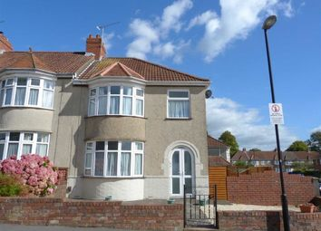 Thumbnail 3 bed end terrace house to rent in Stoneleigh Road, Knowle, Bristol
