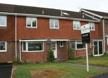 Thumbnail 3 bed terraced house to rent in Russet Close, Alresford, Hampshire