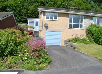 Thumbnail 2 bed semi-detached bungalow for sale in 4, Tanyrallt, Llanidloes, Powys