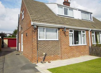 Thumbnail 4 bed semi-detached house for sale in Manor Park, Mirfield, West Yorkshire
