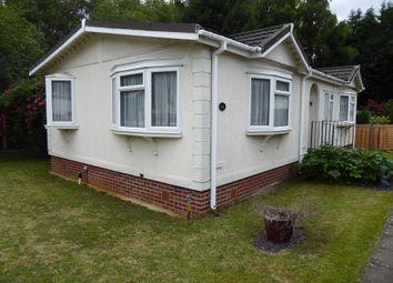 Thumbnail 2 bed mobile/park home for sale in Mytchett Farm Park, Mytchett Road, Mytchett, Camberley, Surrey