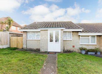 Thumbnail 2 bedroom semi-detached bungalow to rent in Cranbourne Close, Ramsgate