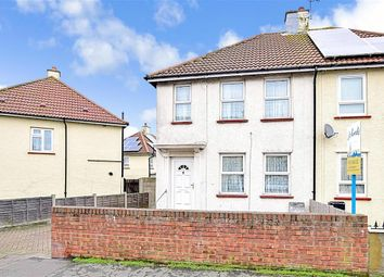 Thumbnail 3 bedroom semi-detached house for sale in Gloucester Road, Gravesend, Kent