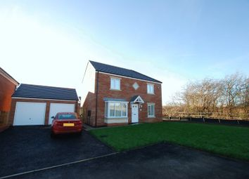 Thumbnail 4 bedroom detached house for sale in Stonecrop Drive, Wideopen, Newcastle Upon Tyne