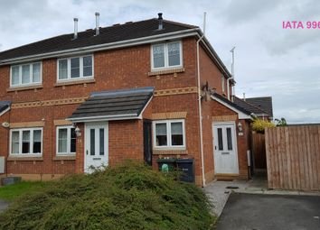 Thumbnail 2 bed flat to rent in Colwyn Close, Ellesmere Port