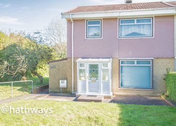 Thumbnail 3 bed semi-detached house for sale in Gwyn Crescent, Varteg, Pontypool