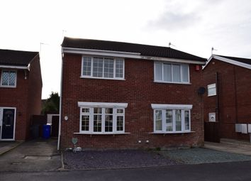 Thumbnail 2 bed semi-detached house for sale in Harington Drive, Parkhall, Stoke-On-Trent