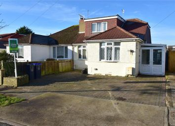 Thumbnail 3 bed semi-detached bungalow for sale in Abbey Road, Sompting, West Sussex