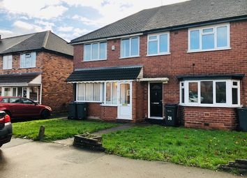 Thumbnail 3 bedroom semi-detached house to rent in Tideswell Road, Birmingham