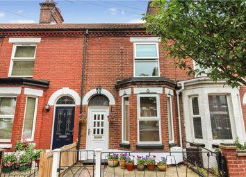 Thumbnail 3 bed terraced house for sale in Rosebery Road, Norwich, Norfolk