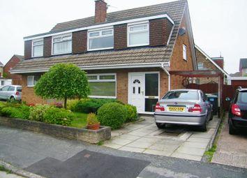 Thumbnail 3 bed semi-detached house to rent in Kirkcaldy Avenue, Great Sankey, Warrington
