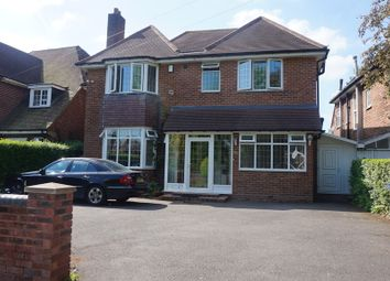 Thumbnail 4 bedroom detached house for sale in Vernon Avenue, Handsworth Wood, Birmingham