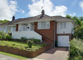 Thumbnail 3 bed bungalow for sale in Greenbank Avenue, Saltdean, Brighton
