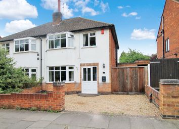 Thumbnail 3 bedroom semi-detached house for sale in Ring Road, South Knighton, Leicester