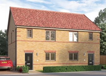 "Thumbnail 3 bed semi-detached house for sale in ""The Pembridge"" at Rosebay Gardens, Clipstone Village, Mansfield"
