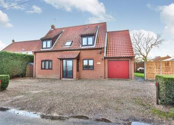 Thumbnail 3 bed detached house for sale in Whinburgh, Dereham, Norfolk