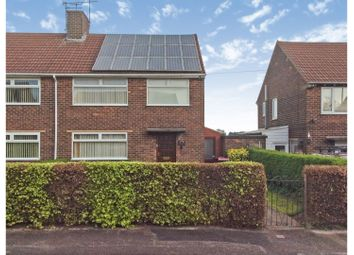 Thumbnail 3 bed semi-detached house for sale in Clegg Hill Drive, Huthwaite, Sutton-In-Ashfield