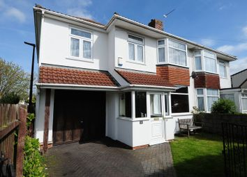 Thumbnail 4 bed semi-detached house for sale in Cranleigh Road, Whitchurch, Bristol