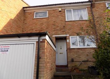 Thumbnail 3 bedroom terraced house to rent in Hunts Close, Luton, Bedfordshire