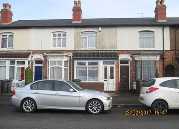 Thumbnail 3 bed terraced house to rent in Stoneleigh Road, Perry Barr