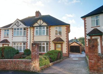 Thumbnail 3 bed semi-detached house to rent in Mayfield Road, St. Loyes, Exeter