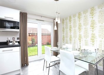 "Thumbnail 3 bed semi-detached house for sale in ""The Hanbury"" at Chapel Lane, Penistone, Sheffield"