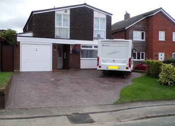Thumbnail 4 bed detached house for sale in Wallington Heath, Bloxwich, Walsall