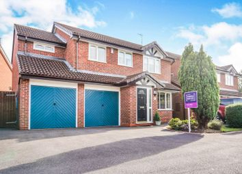 Thumbnail 4 bed detached house for sale in Meadow Croft, Perton, Wolverhampton