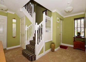 Thumbnail 4 bed detached house for sale in Lambourne Drive, Kings Hill, West Malling, Kent