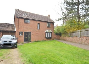 Thumbnail 4 bed detached house for sale in Evensford Walk, Irthlingborough, Wellingborough
