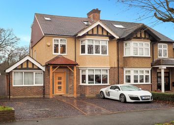 Thumbnail 5 bed semi-detached house for sale in Wickham Avenue, Cheam, Sutton
