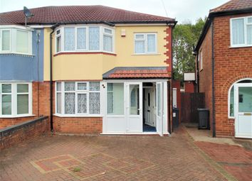 Thumbnail 3 bed semi-detached house to rent in Cardington Avenue, Birmingham