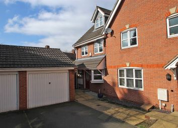 Thumbnail 3 bedroom town house for sale in Marsden Close, Nottingham