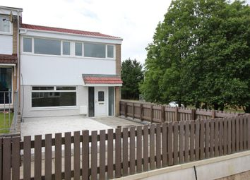 Thumbnail 3 bed end terrace house for sale in Riccarton, Westwood, East Kilbride