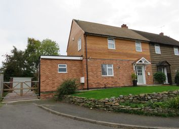 Thumbnail 4 bedroom semi-detached house for sale in Page Lane, Diseworth, Derby