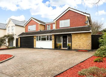 Thumbnail 5 bed detached house for sale in Eastwick Road, Hersham, Walton-On-Thames, Surrey