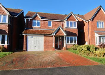 Thumbnail 4 bed detached house for sale in St. Declan Close, Nuneaton