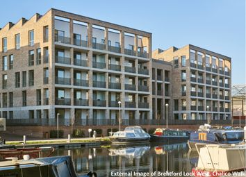Thumbnail 3 bed flat for sale in Brentford Lock West, Durham Wharf Drive, Brentford, London
